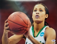 Skylar Diggins Signed Notre Dame Basketball 11x14 Photo PSA ITP Auto #6A03514