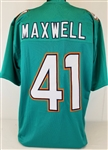 Byron Maxwell Miami Dolphins Custom Home Jersey Mens Large