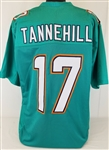 Ryan Tannehill Miami Dolphins Custom Home Jersey Mens Large