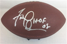 "Fred Dean San Diego Chargers Signed ""HOF 08"" Wilson Football Schwartz Sports COA"