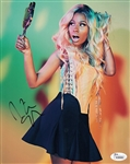 Nicki Minaj Signed Sexy 8x10 Photo Auto Autograph JSA #K35936