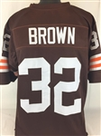 Jim Brown Cleveland Browns Custom Home Jersey Mens XL