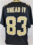 Willie Snead IV New Orleans Saints Custom Home Jersey Mens 2XL