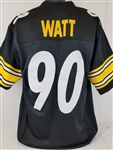 T.J. Watt Pittsburgh Steelers Custom Home Jersey Mens XL