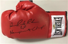 "Hasim Rahman Signed Everlast Boxing Glove ""2x Heavyweight Champ!"" Inscription JSA COA"