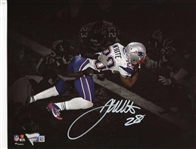 James White Signed Game Winning Super Bowl 51 TD 8x10 Photo Fanatics Authentic