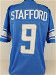 Matthew Stafford Detroit Lions Custom Home Jersey Mens Large