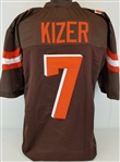 DeShone Kizer Cleveland Browns Custom Home Jersey Mens XL