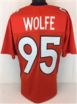 Derek Wolfe Denver Broncos Custom Home Jersey Mens Large