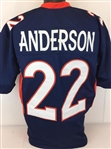 C.J. Anderson Denver Broncos Custom Alternate Jersey Mens 3XL