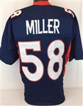 Von Miller Denver Broncos Custom Alternate Jersey Mens 3XL