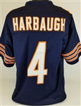 Jim Harbaugh Chicago Bears Custom Home Jersey Mens 3XL