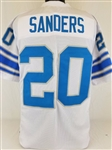 Barry Sanders Detroit Lions Custom Away Jersey Mens Large