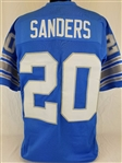 Barry Sanders Detroit Lions Custom Home Jersey Mens 2XL