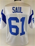 Rich Saul Los Angeles Rams Custom White Away Jersey Mens 3XL