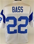 Dick Bass Los Angeles Rams Custom White Away Jersey Mens 3XL