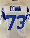 Charlie Cowan Los Angeles Rams Custom White Away Jersey Mens XL