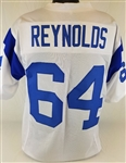 Jack Reynolds Los Angeles Rams Custom White Away Jersey Mens XL
