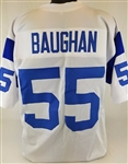 Maxie Baughan Los Angeles Rams Custom White Away Jersey Mens 3XL