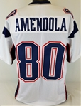 Danny Amendola New England Patriots Custom Away Jersey Mens 2XL