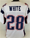 James White New England Patriots Custom Away Jersey Mens 2XL