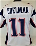 Julian Edelman New England Patriots Custom Away Jersey Mens 2XL
