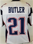 Malcolm Butler New England Patriots Custom Away Jersey Mens 2XL