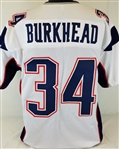 Rex Burkhead New England Patriots Custom Away Jersey Mens XL