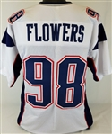 Trey Flowers New England Patriots Custom Away Jersey Mens XL