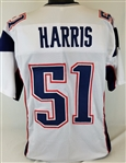 David Harris New England Patriots Custom Away Jersey Mens XL