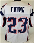 Patrick Chung New England Patriots Custom Away Jersey Mens XL