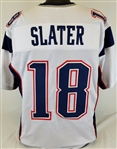 Matthew Slater New England Patriots Custom Away Jersey Mens XL