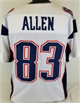 Dwayne Allen New England Patriots Custom Away Jersey Mens XL