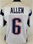 Ryan Allen New England Patriots Custom Away Jersey Mens XL