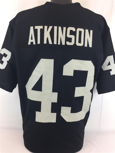 George Atkinson Oakland Raiders Custom Home Jersey Mens Large
