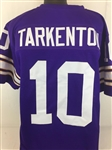 Fran Tarkenton Minnesota Vikings Custom Home Jersey Mens 2XL