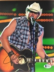 Toby Keith Signed 8x10 Photo Beckett COA #C32377