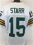 Bart Starr Green Bay Packers Custom Away Jersey Mens XL