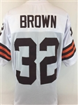 Jim Brown Cleveland Browns Custom Away Jersey Mens XL