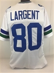 Steve Largent Seattle Seahawks Custom Away Jersey Mens XL