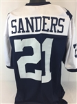 Deion Sanders Dallas Cowboys Custom Alternate Jersey Mens XL
