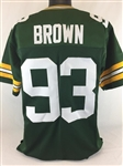 Gilbert Brown Green Bay Packers Custom Home Jersey Mens XL