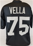 John Vella Oakland Raiders Custom Home Jersey Mens Large
