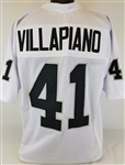 Phil Villapiano Oakland Raiders Custom Away Jersey Mens Large