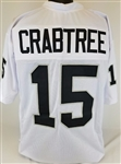 Michael Crabtree Oakland Raiders Custom Away Jersey Mens Large