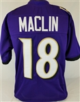 Jeremy Maclin Baltimore Ravens Custom Home Jersey Mens Large