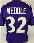 Eric Weddle Baltimore Ravens Custom Home Jersey Mens XL