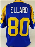 Henry Ellard Los Angeles Rams Custom Blue/Yellow Home Jersey Mens XL