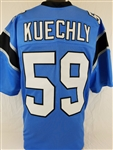 Luke Kuechly Carolina Panthers Custom Alternate Jersey Mens XL