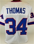 Thurman Thomas Buffalo Bills Custom Away Jersey Mens XL